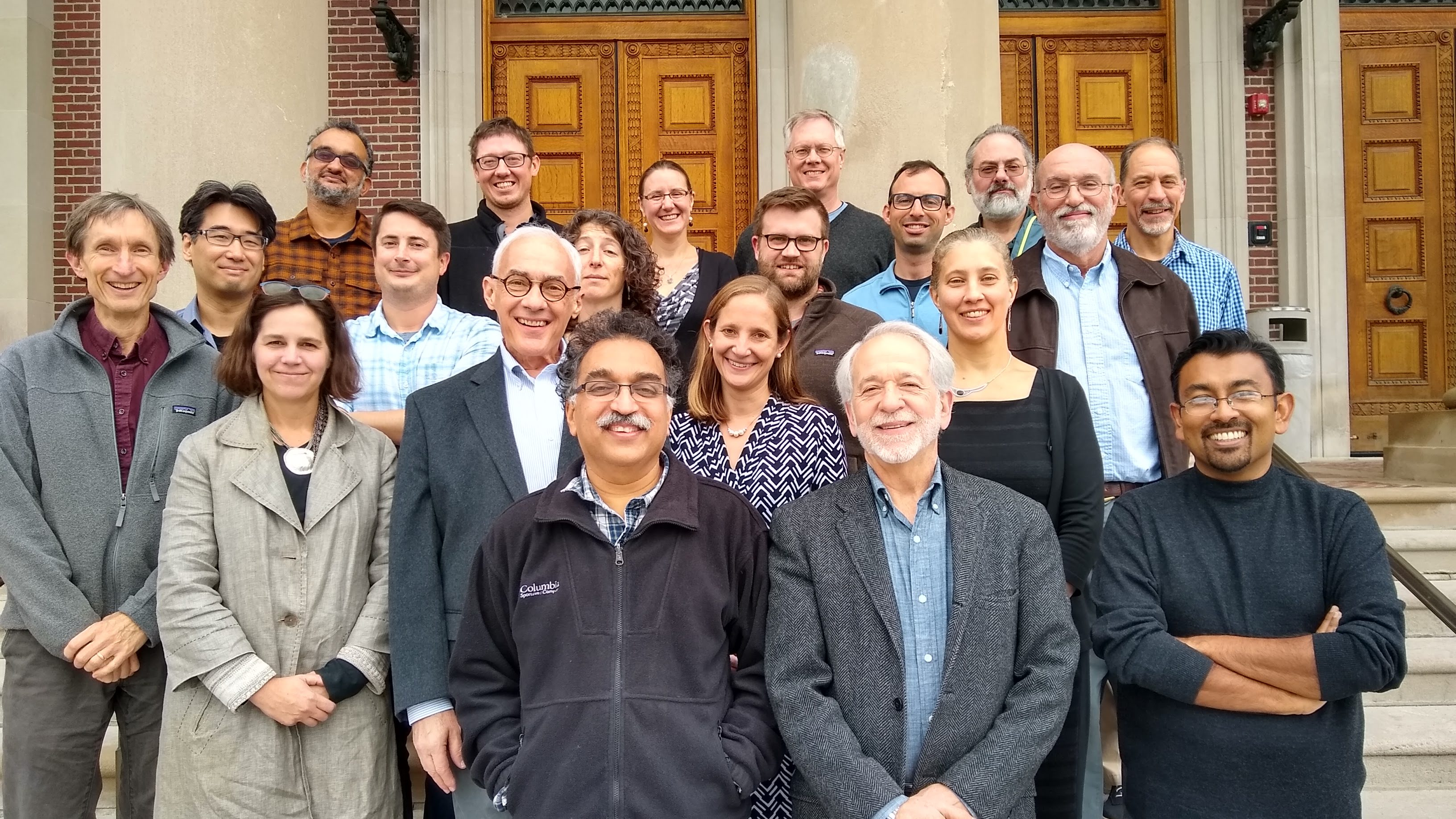 Group photo of economics faculty